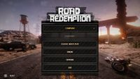 Video Game: Road Redemption