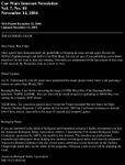 Issue: Car Wars Internet Newsletter (Vol 7 No 10 - November 2054)