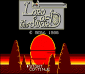 Video Game: Lord of the Sword