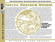 RPG Item: Template: Biological Intruder
