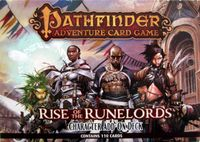Board Game: Pathfinder Adventure Card Game: Rise of the Runelords – Character Add-On Deck
