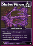 Board Game: Ascension: Shadow Piercer Promo Card