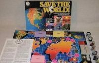 Board Game: Save The World: A Cooperative Environmental Game