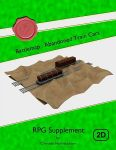 RPG Item: Battlemap: Abandoned Train Cars
