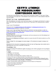 RPG Item: Crypts & Things The Midderlands Conversion Guide