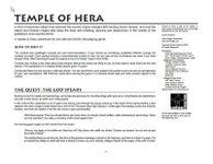 RPG Item: Temple of Hera