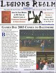 Issue: Legions Realm Monthly (Issue 11 - Jul 2003)