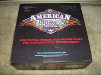 Board Game: American Throttle the Game