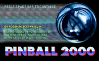 Video Game: Pinball 2000