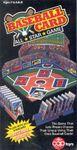 Board Game: Baseball Card All Star Game