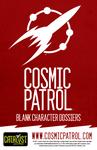 RPG Item: Cosmic Patrol Blank Character Dossiers