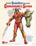 RPG Item: DragonQuest Gamesmaster's Screen