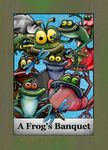 Board Game: A Frog's Banquet