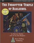 RPG Item: AW1: The Forgotten Temple of Baalzebul