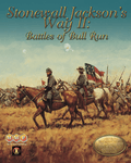 Board Game: Stonewall Jackson's Way II: Battles of Bull Run