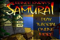 Video Game: Reiner Knizia's Samurai