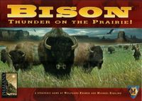 Board Game: Bison: Thunder on the Prairie