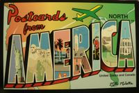 Board Game: Postcards from North America