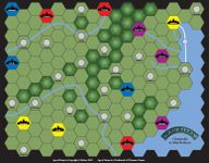 Board Game: Age of Steam Expansion: Chesapeake & Ohio