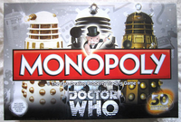 Board Game: Monopoly: Doctor Who 50th Anniversary Collectors Edition