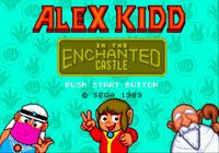 Video Game: Alex Kidd in the Enchanted Castle