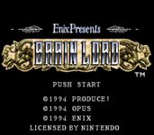 Video Game: Brain Lord
