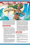 RPG Item: Power Profile #08: Water Powers