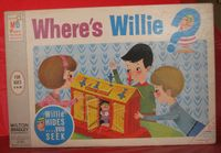Board Game: Where's Willie?
