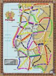 Board Game: Portugal (fan expansion for Ticket to Ride)