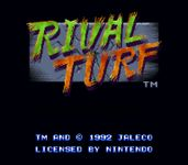 Video Game: Rival Turf!