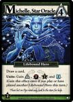 Board Game: Ascension: Michelle, Star Oracle Promo Card