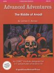 RPG Item: AA#20: The Riddle of Anadi