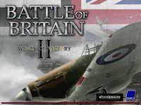 Video Game: Battle of Britain II: Wings of Victory