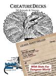 RPG Item: Creature Decks: 54 Animals & Vermin (Dungeon World)