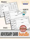 RPG Item: Adversary Card Bundle