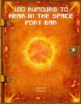 RPG Item: 100 Rumours to Hear in the Space Port Bar