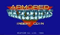 Video Game: Armored Warriors