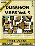 RPG Item: DMAP9: Dungeon Maps Vol. 9