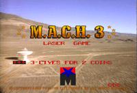Video Game: M.A.C.H. 3
