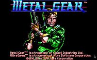 Video Game: Metal Gear
