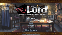 Video Game: Re;Lord 1 ~The witch of Herfort and stuffed animals ~