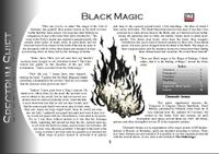 RPG Item: Colours of Magic: Black Magic (D20)