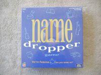 Board Game: Name Dropper