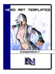 RPG Item: Hero Art Templates Compendium 7