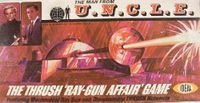 Board Game: The Man From U.N.C.L.E.: The Thrush Ray-Gun Affair