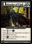 Board Game: Ascension: Chronicle of the Godslayer – Defender of Vigil Promo Card