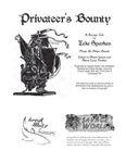RPG Item: Savage Tales 01: Privateer's Bounty