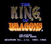 Video Game: The King of Dragons
