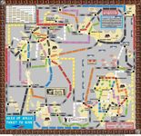 Board Game: Scilly Isles (fan expansion to Ticket to Ride)