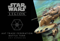 Board Game: Star Wars: Legion – AAT Trade Federation Battle Tank Unit Expansion